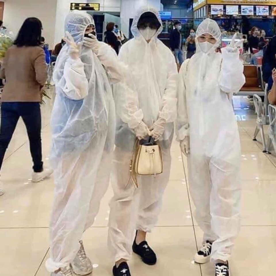 Bộ quần áo bảo hộ Y tế phòng chống dịch dùng 1 lần