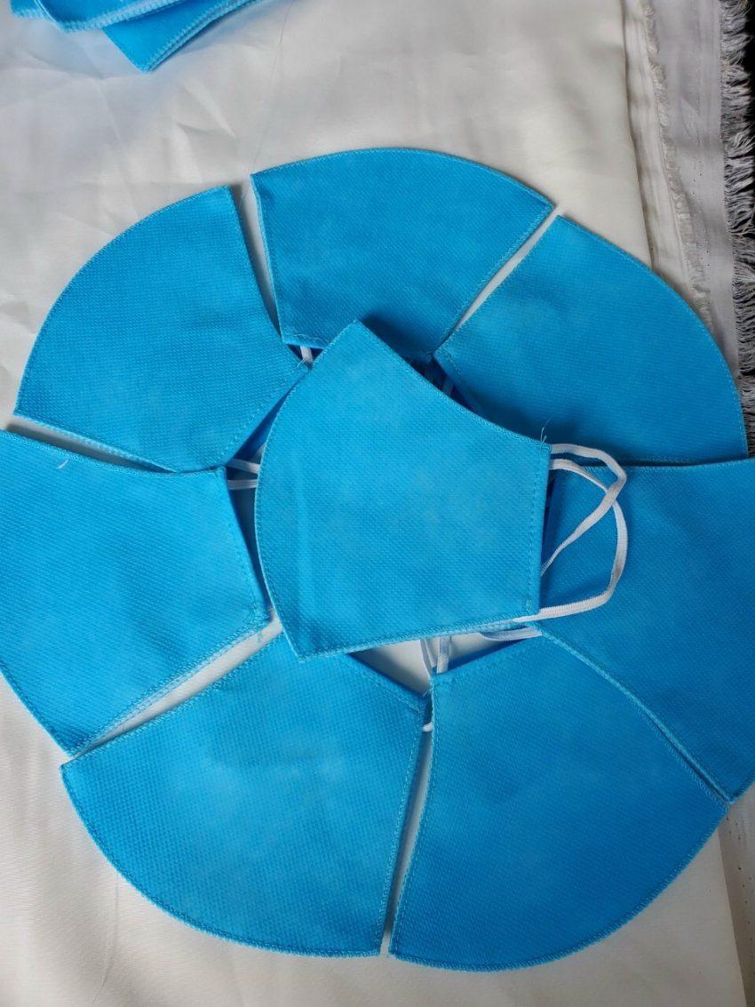 Khẩu trang vải không dệt 3 lớp kháng khuẩn, lọc bụi