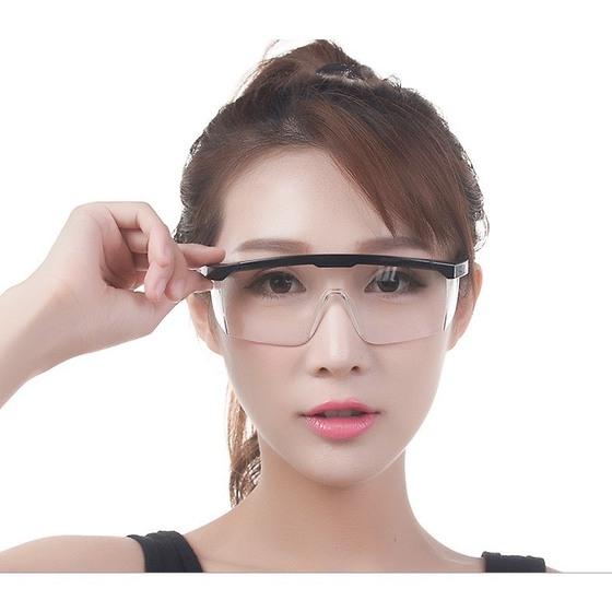 Mắt kính bảo hộ chắn gió bụi, tia UV, chống giọt bắn 1