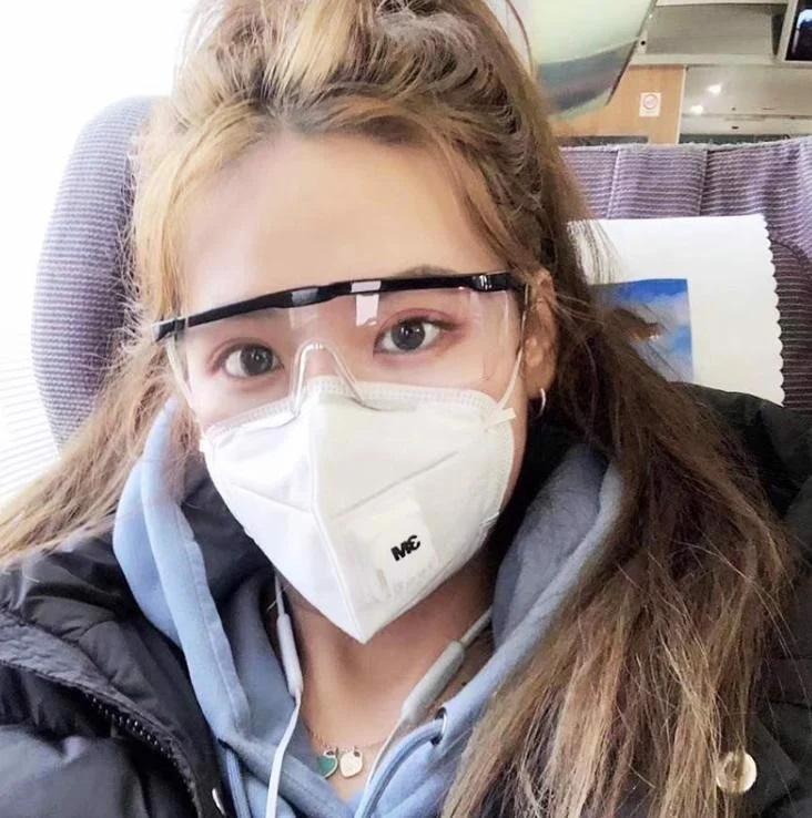 Mắt kính bảo hộ chắn gió bụi, tia UV, chống giọt bắn 3