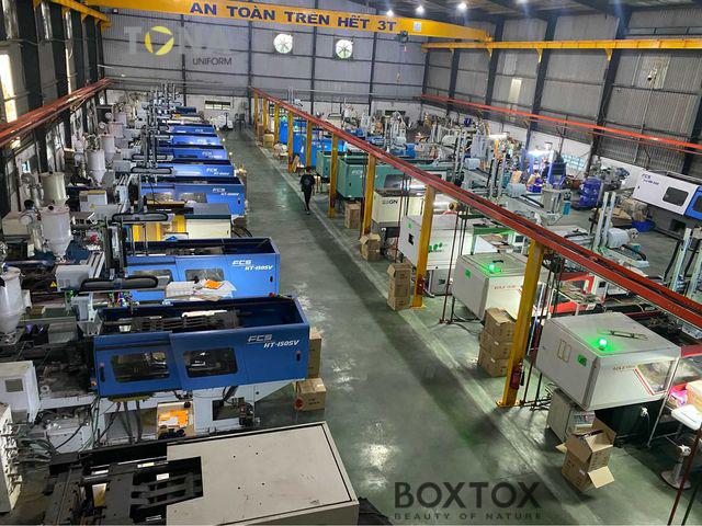 Sản xuất Kính chống giọt bắn tại nhà máy Boxtox Việt Nam