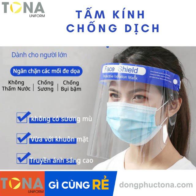 Tấm kính bảo hộ che mặt Face Shield Mask